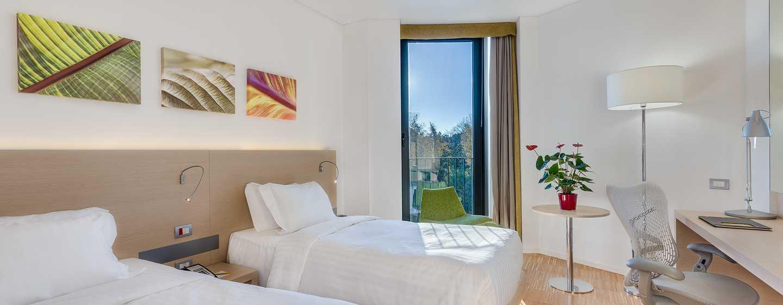 Hilton Garden Inn Venice Mestre San Giuliano Hotel, Italien – Evolution Zimmer mit zwei Einzelbetten