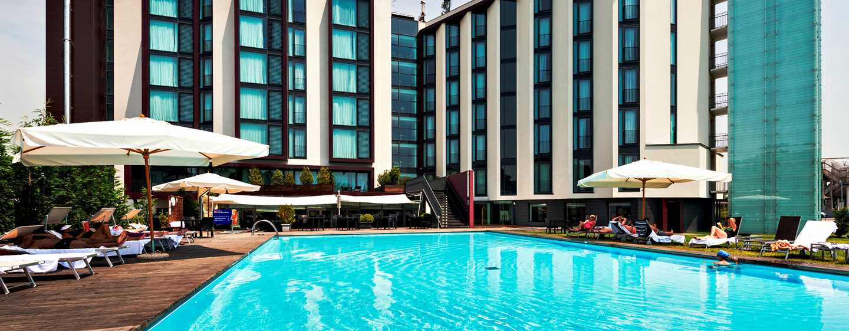 Hilton Garden Inn Venice Mestre San Giuliano Hotel, Italien – Außenpool des Hotels