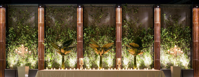 DoubleTree by Hilton Hotel Venice– North, Italien– Bestuhlung im Arco Garden