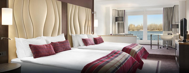 Junior Suite mit zwei Queen-Size-Betten