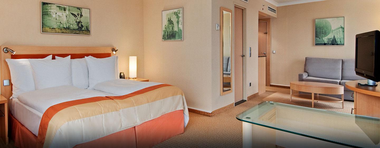 Hilton Deluxe Plus Zimmer mit zwei Einzelbetten